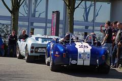 Ford GT40 Replica & AC Cobra Replica (ODMotors) Tags: blue paris cars ford coffee cobra bleu replica 40 gt ac gt40 2013