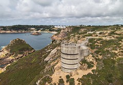 Noirmont (Ningaloo.) Tags: fort german jersey ww2 network defence headland emplacement noirmont aeriali