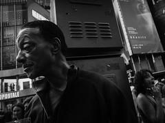 DSCF6526.jpg (john fullard) Tags: street city nyc urban newyork mono manhattan candid explore timessquare fujix10