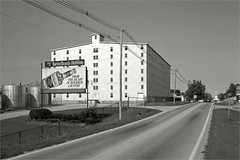 Entering Bardstown (Kentucky Photo File) Tags: kentucky ky warehouse distillery bardstown kpf nelsoncounty us31e bourbonwhiskey stjosephprotocathedral kentuckyphotofile kyphotofile bartonbrands