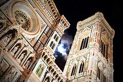 Notturno del Duomo (Boccalupo) Tags: italy moon night lune canon eos florence europa europe italia cathedral luna cathédrale tuscany firenze duomo toscana toscane nuit notte italie santamariadelfiore abigfave 5dmarkii