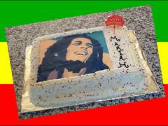Bob Marley cake by Brenda L, Santa Cruz, CA, www.birthdaycakes4free.com