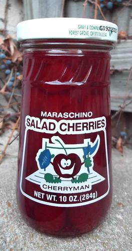 Vintage Shady Lane Cherryman Maraschino Cherries Cherry Man