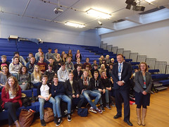 "Stephen Mosley MP visits Upton High School and talks to 6th form Politics and Economics students • <a style=""font-size:0.8em;"" href=""http://www.flickr.com/photos/51035458@N07/11115377593/"" target=""_blank"">View on Flickr</a>"