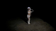 Moon Goddess (Pennan_Brae) Tags: moon beautiful space astronaut moonlanding lunar musicvideo apollo17 pennanbrae