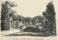 Paris Ignoré 1893.pompes funèbres cimetières,ill p