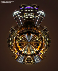Millbank and Vauxhall towers small planet (Nigel Blake, 12 MILLION...Yay! Many thanks!) Tags: bridge westminster digital photoshop small towers planet modified digitally millbank vauxhall nigelblakephotography