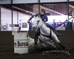 Barrel racing at the Llano Events Center (DustDevilDiver (Briley Mitchell)) Tags: texas events barrel center bull racing riding fighting llano rodoe