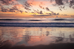 Sept 6 2013 b (andi_marichal) Tags: ocean sky beach nature night clouds sunrise landscape florida cloudy satellite peaceful calm melbourneflorida beachsunrise