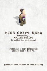 Craft Demo (iamartisan) Tags: workshop apoxiesculpt yellowhauz craftdemo
