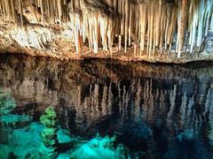 Crystal Cave #7 (larigan.) Tags: hamilton caves pools limestone bermuda caverns tidal touristattraction stalactites stalagmites crystalcaves speleothems abigfave larigan phamilton iphone4s