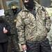 Guard at Ukrainian House