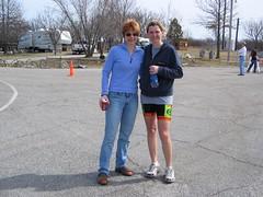 Lenka & Cheryl. teammates