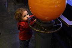 """The Precious..."" (MPnormaleye) Tags: urban boys kids 35mm children child exhibit science observatory utata planetarium unposed vision:sunset=0643 vision:outdoor=0587"