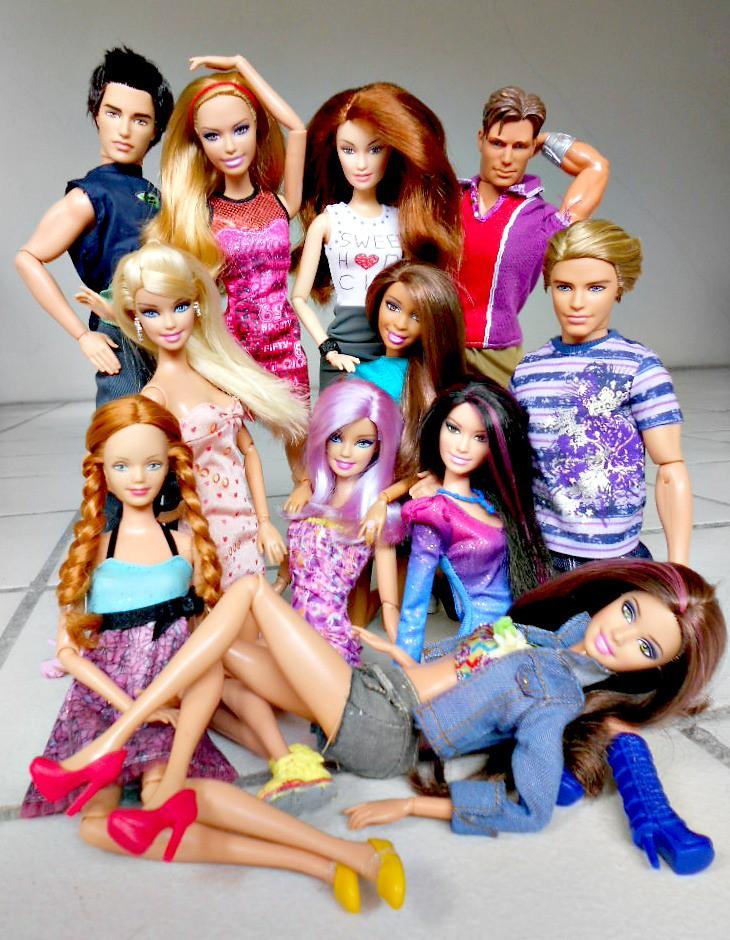 Barbie fashionistas in the spotlight cutie doll 45