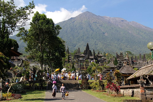 Pura Penataran Agung Besakih, the Mother temple in Bali