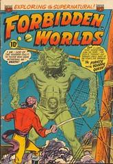 Forbidden Worlds 19 (Michael Vance1) Tags: art weird artist adventure horror terror comicbooks comicstrip goldenage monsters cartoonist anthology