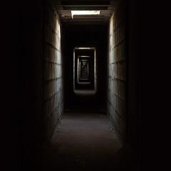 The Tunnel (Wakky Photography) Tags: light black dark nikon shine tunnel creapy d90 55200vr