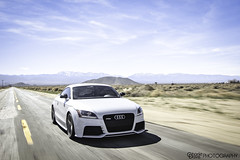 Audi TT RS. (Charlie Davis Photography) Tags: vision:beach=056 vision:mountain=0586 vision:outdoor=099 vision:sky=0951 vision:clouds=0784 vision:car=0821 vision:ocean=078