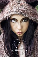 Lyn Agrume (Florent Joannès) Tags: bear logo typography photography 50mm design photo shoot graphic makeup shooting typo beargonewild