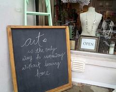 Art (Georgie_grrl) Tags: toronto ontario art sign message smiles happiness storefront positive kensingtonmarket chalkboard anice version20 itsthelittlethings 365project canonpowershotelph330hs mynewdarkpinkside