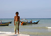 Serious Yemeni Kid Standing On A Beach, Al Khukaha, Yemen (Eric Lafforgue Photography) Tags: ocean blue boy sea shirtless portrait people fish man childhood silhouette horizontal youth standing outside person boat seaside kid fishing asia day ship exterior child fishermen serious outdoor expression redsea horizon fulllength middleeast bluesky figure arabia innocence daytime yemen seafront enfant economy oneperson youngpeople dhow onepeople colorphoto sulking smallboat dow dayview sulk makingaliving littoral realpeople fishingindustry tihama colorpicture placeofinterest beauch arabiafelix arabianpeninsula 1people youngperson sulkiness colourpicture tihamah alkhukaha blissfularabia man'swork men'swork