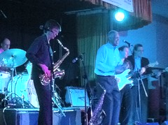 """Earl Green and the Right Time at the Boogaloo Promotions Blues Weekend Lakeside January 2012 • <a style=""""font-size:0.8em;"""" href=""""http://www.flickr.com/photos/86643986@N07/13855408513/"""" target=""""_blank"""">View on Flickr</a>"""