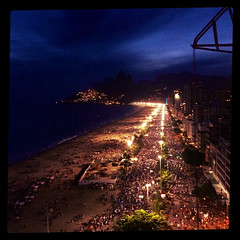 Ipanema at night