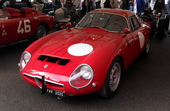 1963 Alfa Romeo Giulia TZ-1 (cerbera15) Tags: festival speed alfa romeo 2009 lemans goodwood zagato tz1