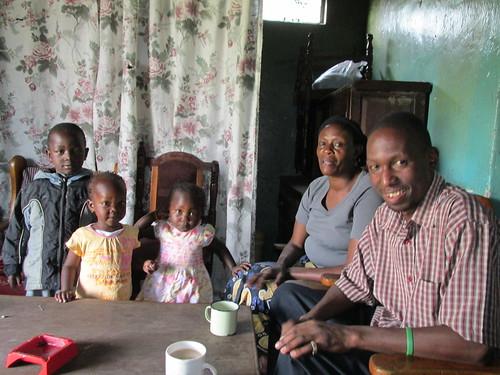 En famille, Nakuru, Kenya