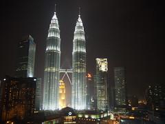 Petronas Towers, Kuala Lumpur, Malaysia!