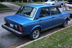 1978 Fiat 128 Custom (vetaturfumare - thanks for 3 MILLION views!!!) Tags: blue ny sedan italian fiat pride longisland forza custom azzurro alloys fwd inter 128 interista dantegiacosa