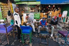 Street moment from Nakuru - Kenya (ViktorDobai) Tags: africa street summer people urban yellow photography streetphotography documentary streetphoto journalism africans urbanafrica viktordobai
