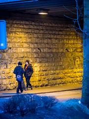 026/365: Hay Thar (haslo) Tags: street blue yellow night switzerland evening pedestrian olympus bern omd em1 ostermundigen project365 100x2015 115in2015