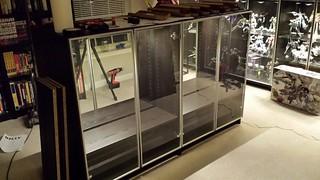 Gunpla Cabinets WIP 2 by Judson Weinsheimer