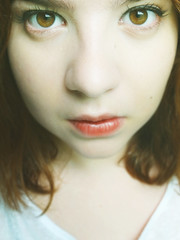 (MayaMaia) Tags: eyes front pale 365 9mm 365challenge