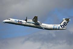G-JECK Dash-8 Q400 (Ian Tate) Tags: ncl newcastleairport flybe dehavillandcanada newcastleinternationalairport egnt dash8q400 dhc8dash8 gjeck bombardierdhc8402dash8