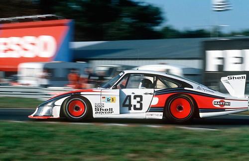 Porsche Typ 935 Turbo в Ле-Мане 1977 год