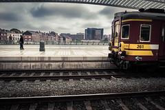 Enferroviaire... (Gilderic Photography) Tags: old city people station lumix belgium belgique panasonic liege luik guillemins gilderic lx3 dmclx3