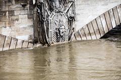 He saw some shit ! (mzagerp) Tags: paris seine de juin flood rivire pont quai cru dorsay fiver zouave 2016 lalma