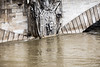 He saw some shit ! (mzagerp) Tags: paris seine de juin flood rivière pont quai cru dorsay fiver zouave 2016 lalma