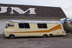 Miracle of American Museum (flippers) Tags: old usa bus museum america vintage weird us montana unitedstates retro american rv oldfashioned polson miracleofamericanmuseum