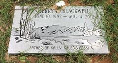 Blackwell Headstone (eloisedv) Tags: oklahoma cemetery headstone gravemarker cartercounty lonegrove