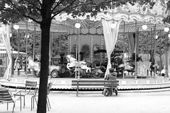 """""""Le carrousel ne s'arrte jamais de tourner. """" (Mlle C..) Tags: paris mange enfance courrousel"""