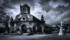 Tiwi Church built 1829 (LorenzMao) Tags: bw church clouds blackwhite nikon philippines catholicchurch tamron bicol darkclouds tiwi tamronlens bicolregion tiwialbay tiwichurch lorenzmaophotography nikond750 tamron1530mmf28vc httpwwwlorenzmaophotographycom