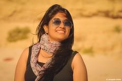 Expression... (Sougata2013) Tags: summer portrait beach girl smile face lady expression australia adelaide southaustralia bengali seabeach portwillunga nikond7200