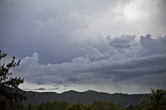 Storm on the Horizon #3 (dleany) Tags: storm clouds hills 70200mmf28l 5dmkii