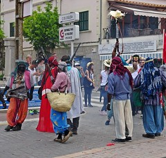 Fir 2016 (Bricheno) Tags: espaa spain espanha mediterranean espana moors mallorca christians spanien spagna spanje majorca baleares soller portdesoller  espanya 2016  balearics hiszpania firo sller morosicristians portdesller  fir  bricheno firdesller