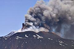 Impressive Side (Davide Castiglione) Tags: morning sky mountain snow west clouds volcano lava altitude central 300mm crater ash sicily etna patches nord fumo voragine centuripe