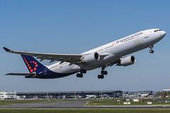 Brussels Airlines / A333 / OO-SFM / EBBR 07R (_Wouter Cooremans) Tags: brussels aviation airlines spotting bru zaventem ebbr brusselsairport spotter a333 airplanespotting avgeek oosfm brusselsairlines 07r